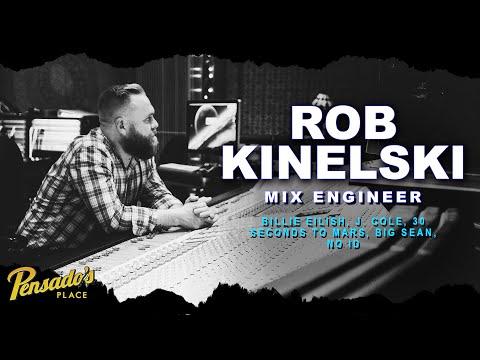 Billie Eilish Mix Engineer, Rob Kinelski – Pensado's Place #412