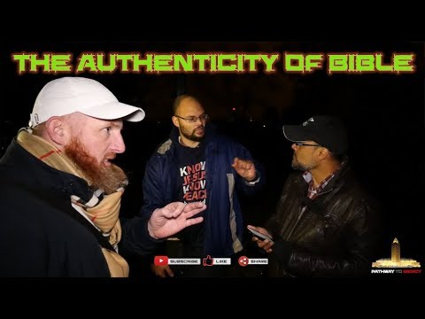 """Speakers Corner: [ 22/10/17 ] Br-Hashim, Br-Hamza and Nathan [The Authenticity of the Bible]"""""""