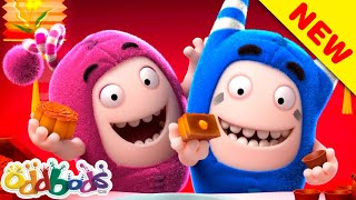 ODDBODS | Munching Mooncakes As Round As The Moon | Cartoons For Children