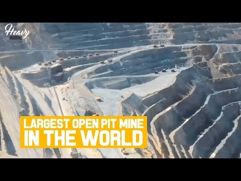 Bingham Canyon Copper Mine ⋮ Largest Open Pit Mine in The World - 重機設備 – 중장비