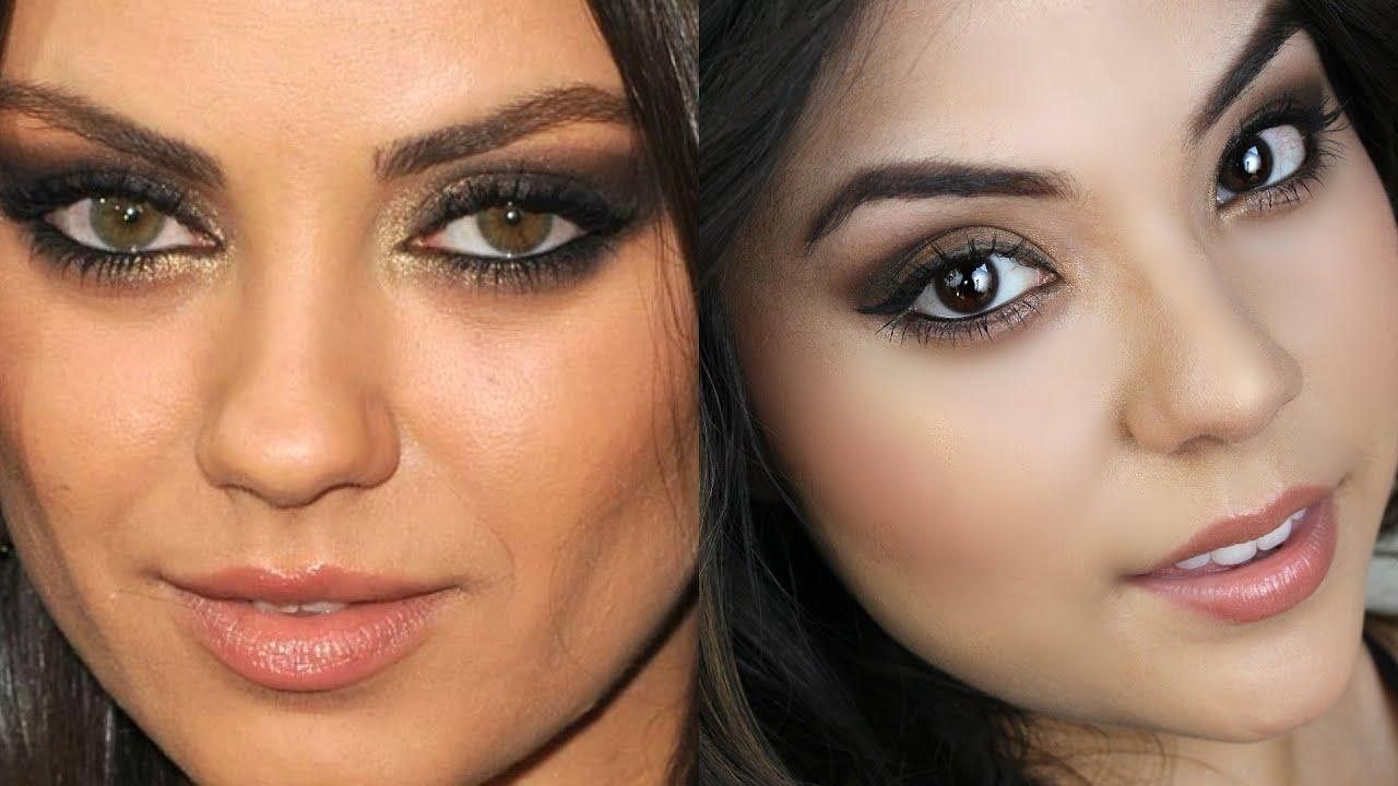 Mila Kunis Smokey Eye Tutorial