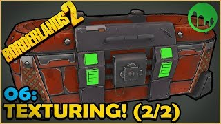 Borderlands Loot Chest: Hand Painting in 3d Coat! (Part 2) [06]