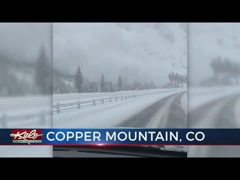 Colorado Avalanche Closes Parts Of Interstate 70