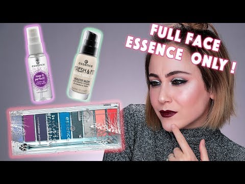 FULL FACE USING ONLY ESSENCE PRODUCTS 😳 FOUNDATION FAIL🚫 deutsch | Hatice Schmidt