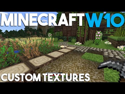 How To Get Custom Textures In Minecraft Windows 10 Edition! - Tutorial