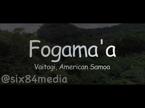 Fogama'a Beach, American Samoa