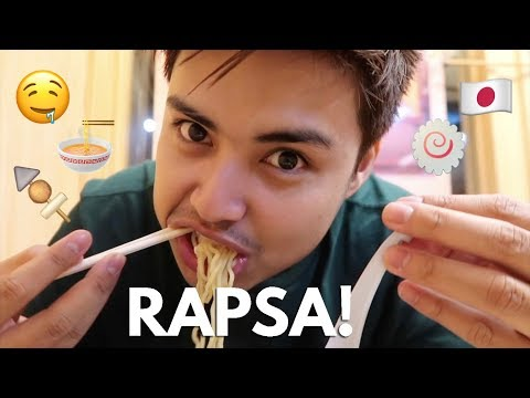 How to Eat Ramen in Japanese Style + Street Foods!!