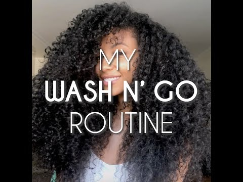 Miss USA Cheslie Kryst's Favorite Wash N Go Routine thumbnail