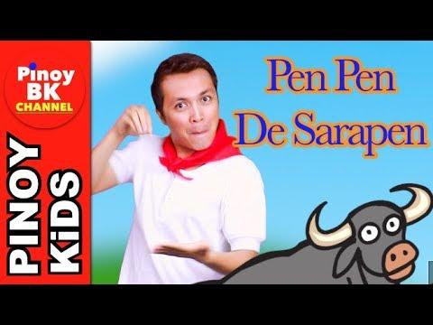 Pen Pen de Sarapen   Pinoy BK Channel🇵🇭   TAGALOG SONGS FOR KIDS (AWITING PAMBATA)