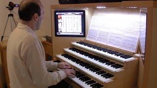 Bach - Vom Himmel hoch, da komm ich her (BWV 606, Orgelbüchlein)