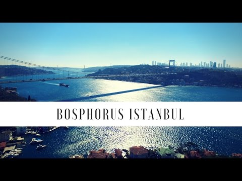 Travel via Drone - Bosphorus Bridge Istanbul Turkey 4K Drone Video # 13