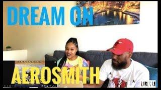 JAI'S FIRST TIME HEARING AEROSMITH- DREAM ON (REACTION)