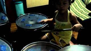 Little Drummer Mika Reyes