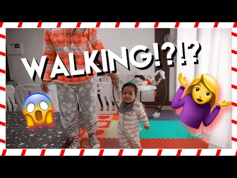 OMG!!! OUR BABY IS ALMOST WALKING | VLOGMAS 2018 | CANVAS FASHIONS thumbnail