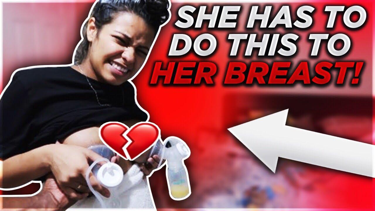 CARMEN CAN'T BREAST FEED BABY CJ!!!