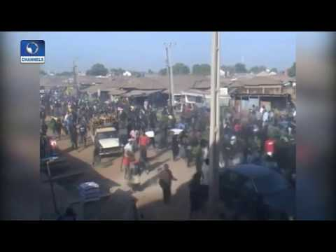 Video/Photo: Southern Kaduna Indigenes Intesify Protests Against Continued Herdsmen Attacks.