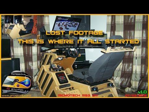 ✅Sim Racing Room Tour | Homemade Sim Racing Cockpit