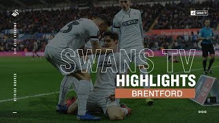 FA Cup Highlights: Swans 4 Brentford 1