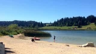 Camping les Fuvettes, Malbuisson, Lac de Saint Point