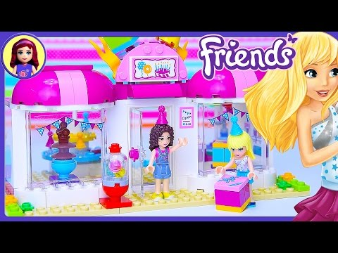 Lego Friends Heartlake Party Shop Build Review Silly Play – Kids Toys