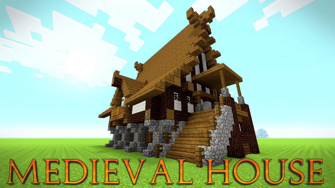Minecraft: How To Build A Medieval House Tutorial | Medieval Mansion  Tutorial (Huge) 2016