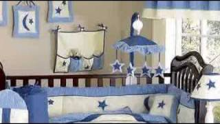 Stars And Moons Boy Crib Baby Bedding Set By Jojo Designs