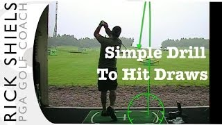 Simple Drill To Hit Draws With Irons