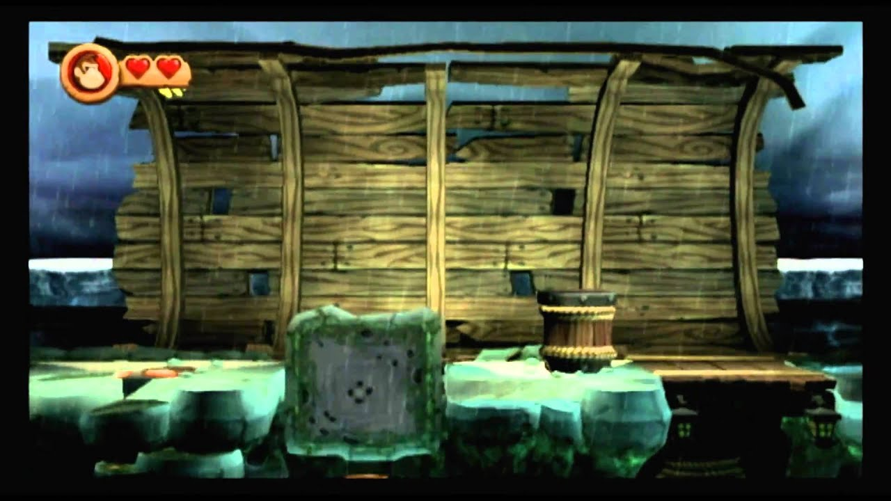 Cgr Gameplay Donkey Kong Country Returns Wii Level 2 7 Youtube