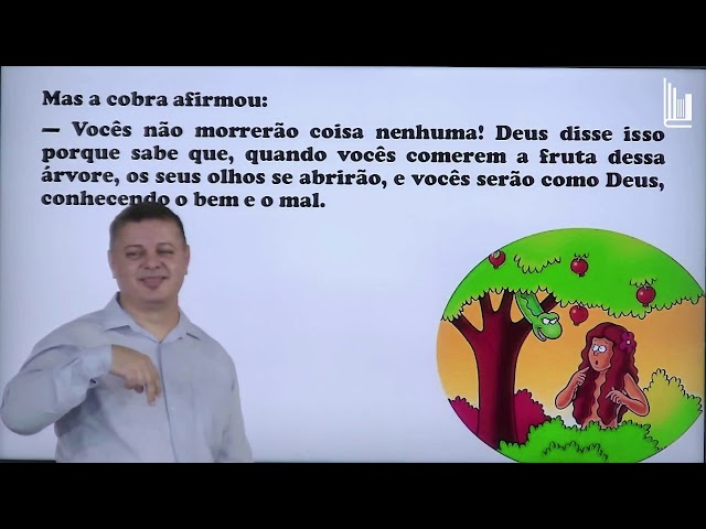 EBD em LIBRAS  - 12/07/2020 - ORAÇÃO E QUEDA