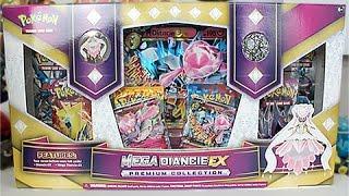 Opening A Mega Diancie EX Premium Collection Box!!