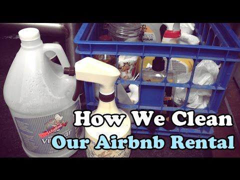 Shampoo and Booze Episode 2: How We Clean Our Airbnb Rental