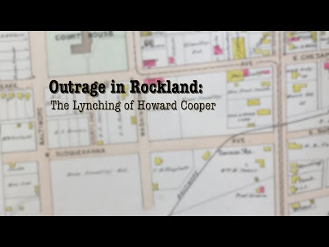 Outrage in Rockland: The Lynching of Howard Cooper