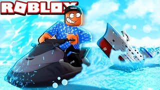 JET SKIING IN ROBLOX | SOMEONE STOLE MY JET SKI!!!