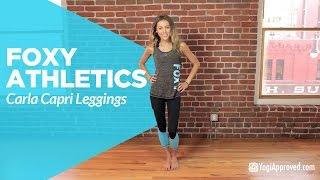 Foxy Athletics Carla Capri Leggings Product Review