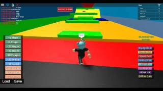 STAGE RAGE| Roblox obby esc happy wheels obby part 2