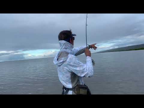 08.27.2019 Brian Edmisson From Lahaina, Maui Fighting His Largest Fish On Flygear