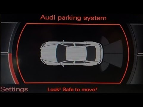 audi a6 parking system plus retrofit - youtube