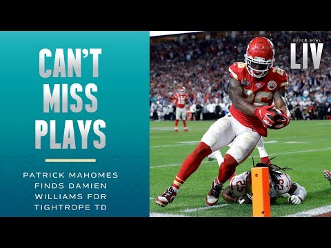 Patrick's Finest Mahoment! Damien Tight-Ropes for the TD | Super Bowl LIV