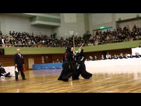 2012 All Japan H.S. Kendo Championship Girl's Final  Saitamasakae V.s. Nakamura 5Taisho