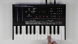 """""""Tone Select"""" Roland D-05 #01"""