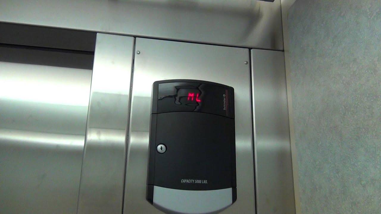 Schindler 330A Hydraulic Elevator - CSS Burns Wellness Commons ...