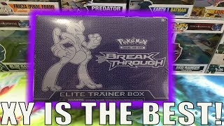 XY SERIES IS THE BEST! BREAK THROUGH ELITE TRAINER BOX : POKEMON CARD OPENING