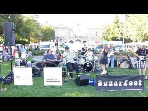SugarFoot Live at the Sonoma Farmers Market 07/26/2016