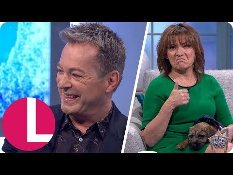Julian Clary Discovers What His Dog Really Thinks of Him From a Pet Medium  Lorraine