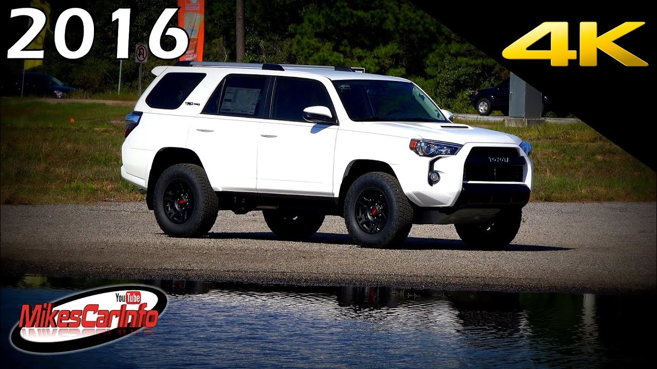2016 Toyota 4runner Trd Pro Ultimate In Depth Look 4k