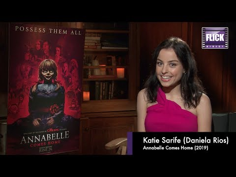 Annabelle Comes Home:  A Chat About The Film With Star Katie Sarife