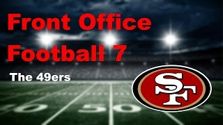 Front Football Office 7-San Fran 49ers Part 1 Introduction