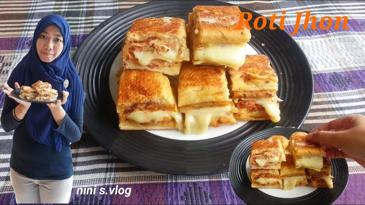 Roti John sedap dan simple resep