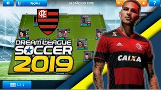 Saiu !! Lendas do Flamengo para dream league soccer 2019