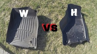 WEATHER TECH VS HUSKY LINERS...... WHICH IS BETTER!?